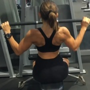16 years old Fitness girl Carlotta Back workout