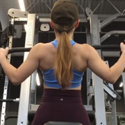17 years old Fitness girl Sophie Back workout